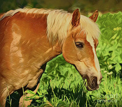 Painting - Horse A198 by Ray Shrewsberry