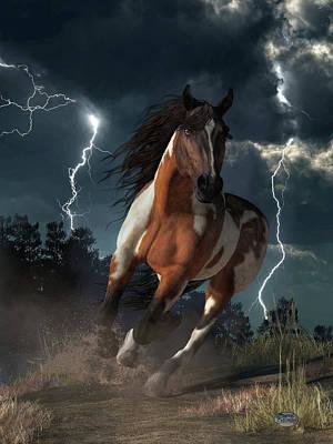 Animals Digital Art - Horse Power by Daniel Eskridge