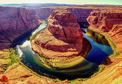 Photograph - Horseshoe Bend by Joseph Plotz