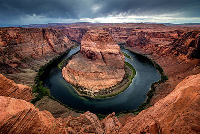 Photograph - Horseshoe Bend by Ryan Wyckoff