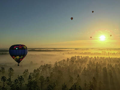 Photograph - Hot Air Balloon 2 by Stefan Mazzola