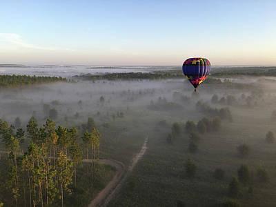Photograph - Hot Air Balloon 3 by Stefan Mazzola