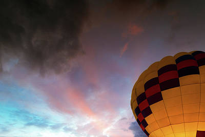 Photograph - Hot Air Balloon by Nicole Young