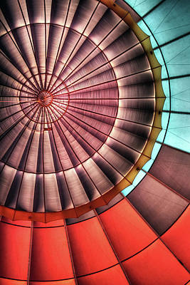 Photograph - Hot Air Balloon by Photo By Greg Thow