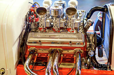 Photograph - Hot Rod Engine In Punta Cana by John Rizzuto