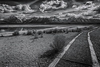Photograph - Hot Springs Path by Cat Connor