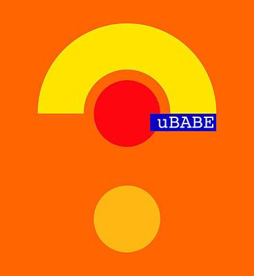 Digital Art - Hot Style by Ubabe Style