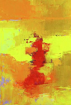 Painting - Hot Texture by Nancy Merkle