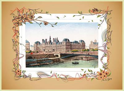 Photograph - Hotel De Ville Paris by Carlos Diaz