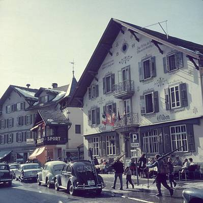 Ski Photograph - Hotel Olden by Slim Aarons
