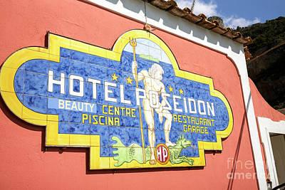 Photograph - Hotel Poseidon Positano by John Rizzuto