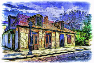 Painting - House A18-123 by Ray Shrewsberry