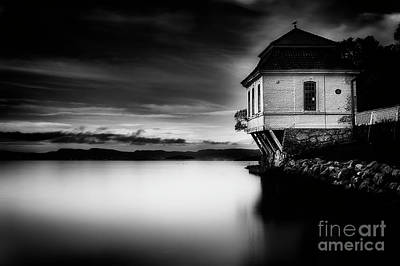 Erik Brede Rights Managed Images - House by the Sea Royalty-Free Image by Erik Brede