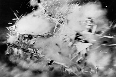 House Disintegrates Art Print by Keystone