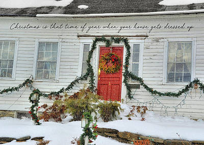 Animal Paintings David Stribbling - House Holiday Ready  by JAMART Photography