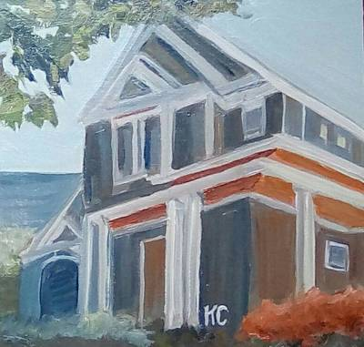 Painting - House In Charlotte by Katherine Cobb