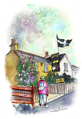 Painting - House Of Ann Famous Pasties In Helston by Miki De Goodaboom