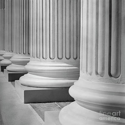 Photograph - House Of Justice by Patrick M Lynch
