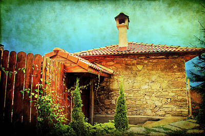 Photograph - House Up In The Mountains  by Milena Ilieva