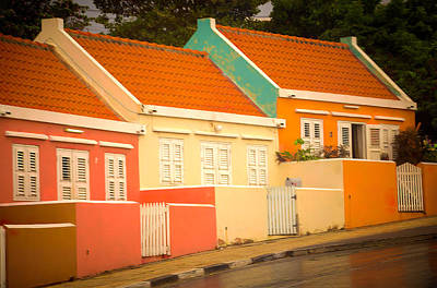Photograph - Houses Of Color by Max Huber