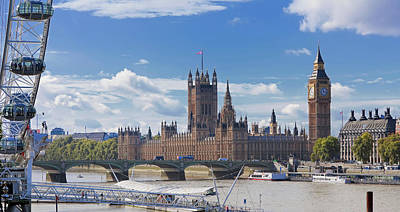 Break Of Day Photograph - Houses Of Parliament And River Thames by Marco Simoni