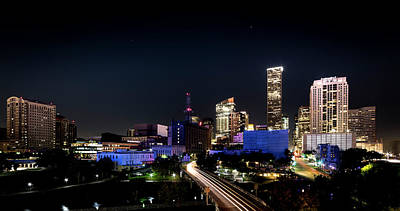 Photograph - Houston Lives On by David Morefield