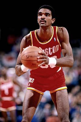 Photograph - Houston Rockets V Portland Trail Blazers by Brian Drake