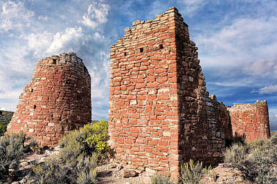 Photograph - Hovenweep Afternoon  by Kathleen Bishop