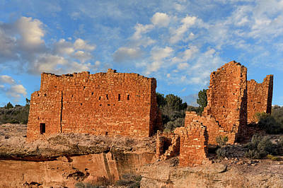 Photograph - Hovenweep Castle Ruins by Kathleen Bishop