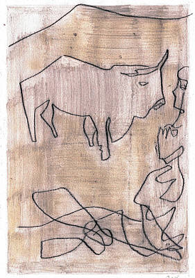 Drawing - How The Camel Got His Hump Digital And Drawings D13-1 by Artist Dot
