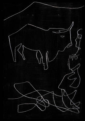 Digital Art - How The Camel Got His Hump Digital And Drawings D13-3 by Artist Dot