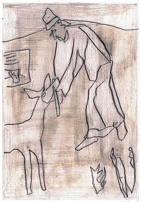 Drawing - How The Camel Got His Hump Digital And Drawings D19-1 by Artist Dot