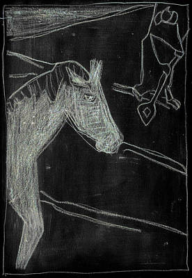 Digital Art - How The Camel Got His Hump Digital And Drawings D5-4 by Artist Dot