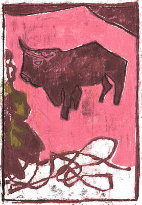 Painting - How The Camel Got His Hump Oil Otd Painting 15 by Artist Dot