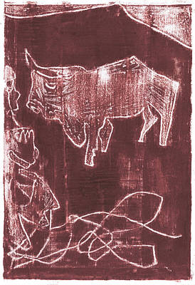 Painting - How The Camel Got His Hump Oil Otd Painting 16 by Artist Dot
