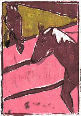 Painting - How The Camel Got His Hump Oil Otd Painting 23 by Artist Dot