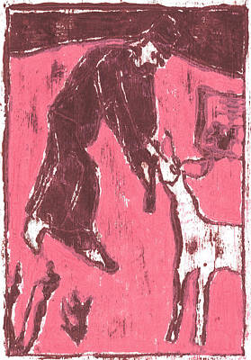 Painting - How The Camel Got His Hump Oil Otd Painting 9 by Artist Dot