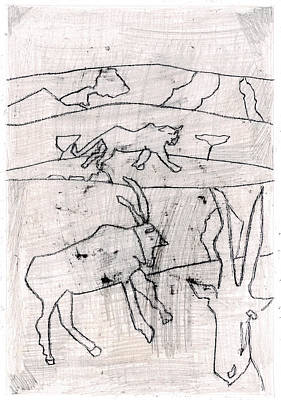 Digital Art - How The Leopard Got His Spots Dr12ed3 by Artist Dot