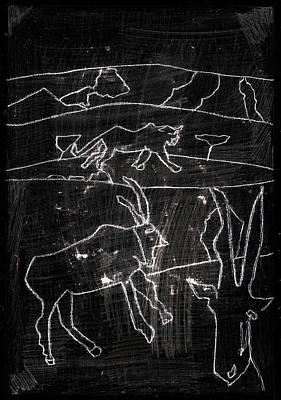 Digital Art - How The Leopard Got His Spots Dr12ed4 by Artist Dot