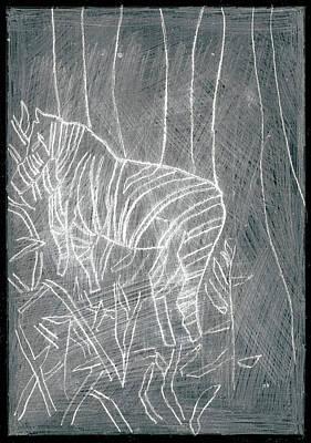 Digital Art - How The Leopard Got His Spots Dr16ed2 by Artist Dot