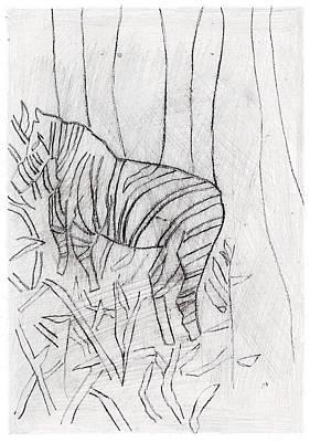 Digital Art - How The Leopard Got His Spots Dr16ed3 by Artist Dot