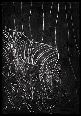 Digital Art - How The Leopard Got His Spots Dr16ed4 by Artist Dot