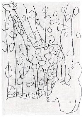 Digital Art - How The Leopard Got His Spots Dr17ed3 by Artist Dot
