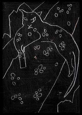 Digital Art - How The Leopard Got His Spots Dr19ed4 by Artist Dot