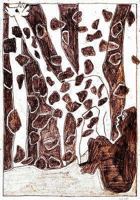 Digital Art - How The Leopard Got His Spots Dr4ed1 by Artist Dot
