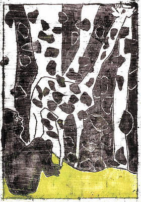 Painting - How The Leopard Got His Spots Oil Painting Otd4 by Artist Dot