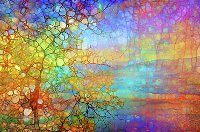 Digital Art - How The Tree Reimagines The Sunset by Tara Turner