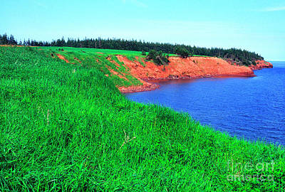 Royalty-Free and Rights-Managed Images - Howe Point Prince Edward Island by Thomas R Fletcher
