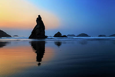 Photograph - Howling Dog Rock Bandon by James Eddy