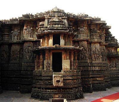 Karnataka Photograph - Hoysaleswara Temple, Halebidu, Karnataka by By Chandrachoodan Gopalakrishnan